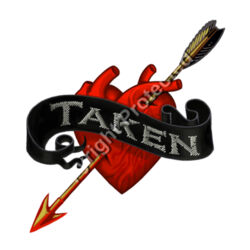 Taken - AS Colour STAPLE TEE Design